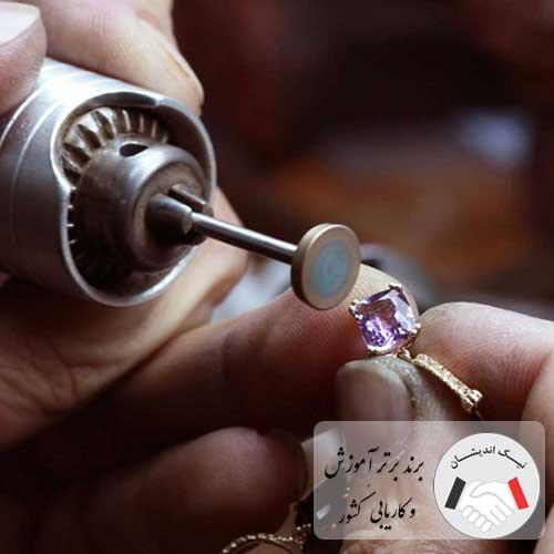 دوره آموزش ساخت طلا و جواهر